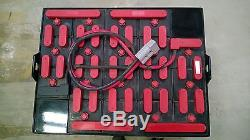 New 12-85-13 Forklift Battery 24v Five Year Warranty/ Free Shipping 1-2 weeks