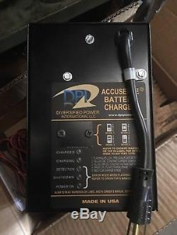 New Yale Forklift On Board Battery Charger 24 Volt 12amp 120vac Parts 524245865