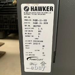 PowerGuard HD 24V DC Forklift Battery Charger PH3R-24-865 Hawker