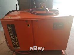 Raymond Reach Truck Fork Lift EASI R35TT 24 Volt battery & charger 44 in. Forks