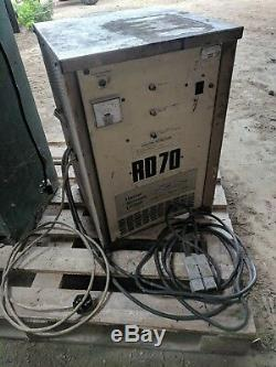 Rd70 Forklift Single Phase Battery Charger 18 Cells At 40 Amps