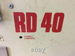 Rd-40 Rd40 Rd 40 Forklift Battery Charger 15 Amps I5s9