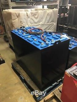 Reconditioned Forklift Battery Model 18-125-17, 1 Year Warranty
