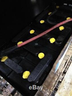 Refurbished 12-100-13 24V 600Ah Industrial Steel Case Forklift Battery $Reduced