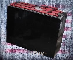 Refurbished 12-125-13 24V Industrial Steel Case Forklift Battery