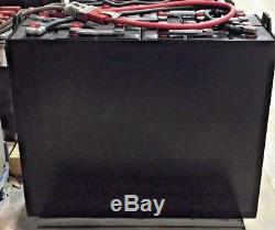 Refurbished 12-85-7 24V Industrial Steel Case Forklift Battery