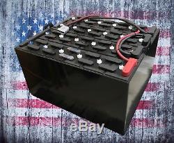 Refurbished 18-85-29 36V Industrial Steel Case Forklift Battery