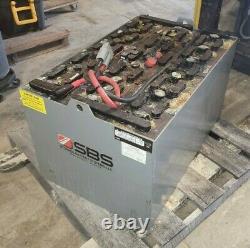 SBS 18-935T-21 Lead Acid Industrial 36V Forklift Battery 935 AH 6 Hour Capacity