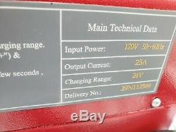 Shineng 24DCV 25A Battery Charger CZC5 120V 50/60HZ