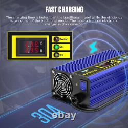 Smart Automatic Fast Charger 30A For 24V Forklift Golf Cart Fast Battery Charger