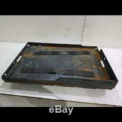 Träger Tragplatte Staplerbatterie 80V Batterie Forklift Battery holder