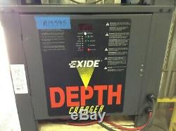 Used 24 Volt Enersys Depth Charger 400 to 750 AH battery