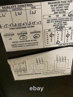 Used Kodiak 36V 180A Fork Lift Battery Charger 18K1050B3 3 Phase