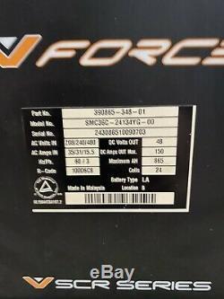 VFORCE SCR Series 48 VOLT 3-PHASE FORKLIFT BATTERY CHARGER 208V 240V 480V