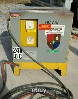Yale 3YF12-550 230/460 V 1PH Forklift Battery Charger