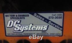 12-125-13 Batterie De Chariot Électrique De 24 Volts Reconditionnée Testée Et Entretenue. Très Bon