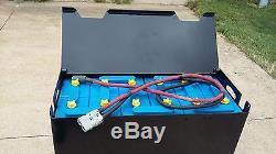 12-125-13 Batterie Pour Chariot Élévateur 24volt Testée, Entretenue, Propre Et Prête À L'expédition! E125