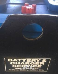 12-125-15 24 Volts Chariot Batterie Reconditionnées Tres Bon Can Navire