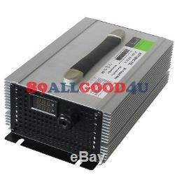 1500w Chargeur De Batterie Entrée Ac220voutput DC 48v / 25afor Chariot Élévateur Électrique
