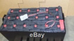 18-85-17 38 Batterie De Chariot Élévateur 36v Entretenue Et Testée En Excellent État