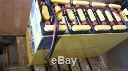 18-85-9 36 Volts Balai Laveur, Chariot Batterie Testé Grand Et Entretien