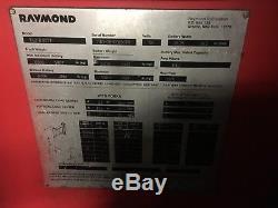 2008 Raymond Chariot Élévateur À Fourche 4500lb 268 Ascenseur Avec Batterie Et Chargeur