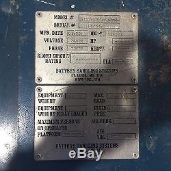 2011 Usine D'occasion Extracteur De Batterie Systèmes De Manutention De Batterie