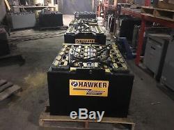 2014 Hawker 48 Volt Chariot Élévateur Batterie 24-85-21 24x85x21
