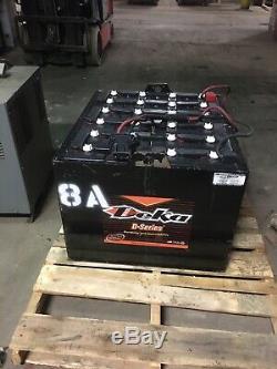 2018 Deka 48 Volt Chariot Élévateur Batterie Série D 24xd85x13 DIM 32x28x22
