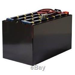 24-125-13 Batterie Chariot Élévateur Reconditionnée À 48 Volts 750 Ah 38,5x20,6x30,5