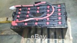 24-85-7,48 Volts, 255ah Deka Chariot Batterie Testé 5 Heures Et Entièrement Équipés