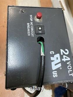 24 Volt Chariot Élévateur Chargeur De Batterie 120 V, 9,5 Ac Ampère Cellules 12 Modèle Svr2425120ad