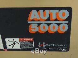 24 Volt Hertner Chariot Élévateur Industriel Utilitaire Chargeur De Batterie 680 Ah 3 Ph 220 / 460v