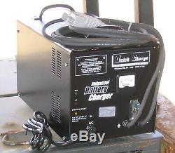 36 Volt 60 Amp Chargeur De Batterie De Chariot Élévateur Sb-350 Gris En Stock Made Aux États-unis