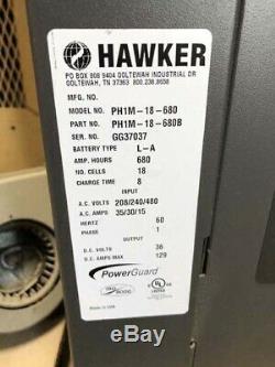 36 Volt Hawker Chargeur De Batterie Ph1m-18-680 Chariot Électrique Transpalette