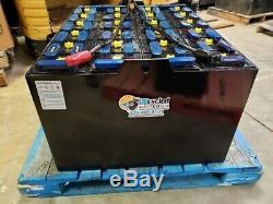 36 Volt Remis À Neuf Entièrement Chariot Élévateur Batterie 18-85-27 Avec Core Credit
