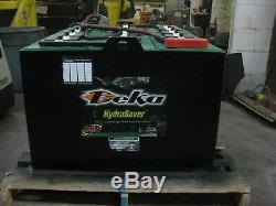 36 Volts 18-85-27 Chariot Élévateur Industriel Battery Capteur D'eau Deka Mfg Hydroeye