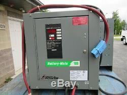 Ametek Batterie Maté Chariot Élévateur Chargeur De Batterie 48v, 966-1050ah Très Bon État