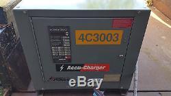 Ametek Prestolite Fourche À Fourche Électronique Sans Fil Chargeur Forklift 750c3-24 Menthe