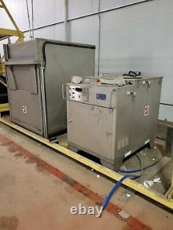 Armoire Automatique De Lave-fourche Mtc Wca-ss Avec Recirculation De L'eau