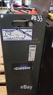 Batterie 12-85-7 Classique Gnb Gnv 24 Volts, Testé Bon Cond. M1601208507d