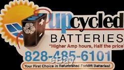 Batterie 18-85-21 De Chariot Élévateur Entièrement Remise À Neuf Avec Crédit De Base