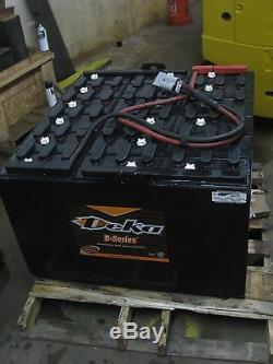 Batterie De Chariot Élévateur 36 Volts -18-85-31-1275 Amp Hour- Deka Brand Light To Med Duty