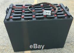 Batterie De Chariot Élévateur De 36 Volts Usagée Et Reconditionnée 18-125-17 1000 Amp Hour