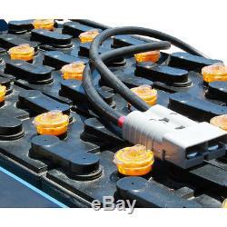 Batterie De Chariot Élévateur Électrique Avec Couvercle, 24 Volts, 150 Ah (à 6 Heures)