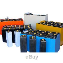 Batterie De Chariot Élévateur Électrique Avec Couvercle, 24 Volts, 255 Ah (à 6 Heures)
