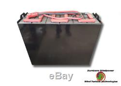 Batterie De Chariot Élévateur Entièrement Rénovée De 24 Volts Avec La Capacité De Garantie 1180ah Pour Le Solaire