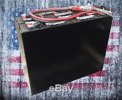 Batterie De Chariot Élévateur Industrielle Remise À Neuf, 18-85-25, 36v