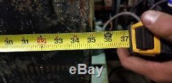 Batterie Industrielle De 35 '' X 13 '' X 30 '' De La Batterie 24k De Chariot Élévateur Enveloppée Industrielle En Acier