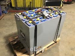 Batterie Pour Chariot Élévateur, 3625 Volts Enersys 18-125-19, 1125 Ah, Excellente Condition